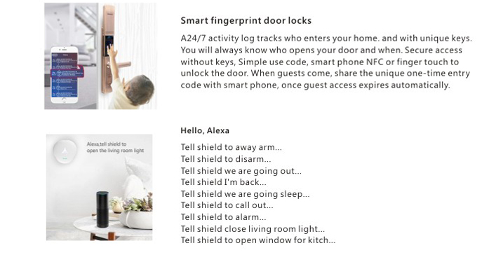 Wireless Smart home security alarm system with Lora Technology
